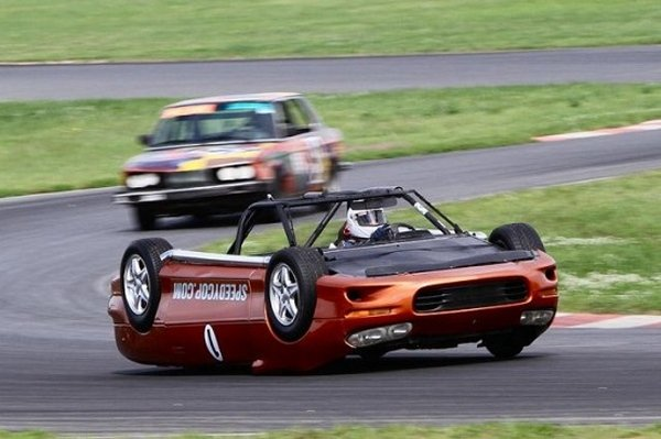 Upside-down Car Is One Bitchin' Camaro