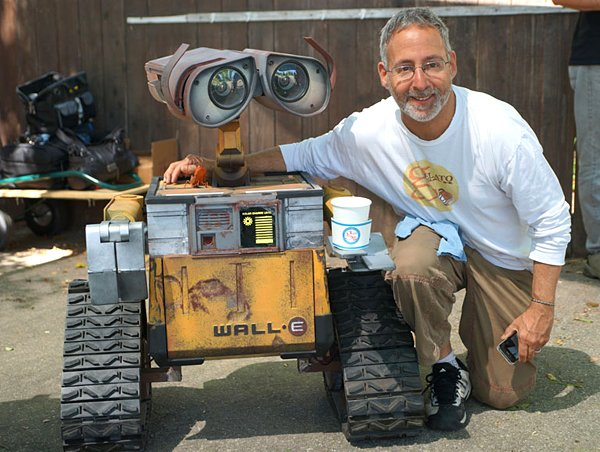 wall e robot replica by mike mcmaster