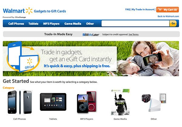 Walmart Lets You Swap Old Gadgets for Instant Credit