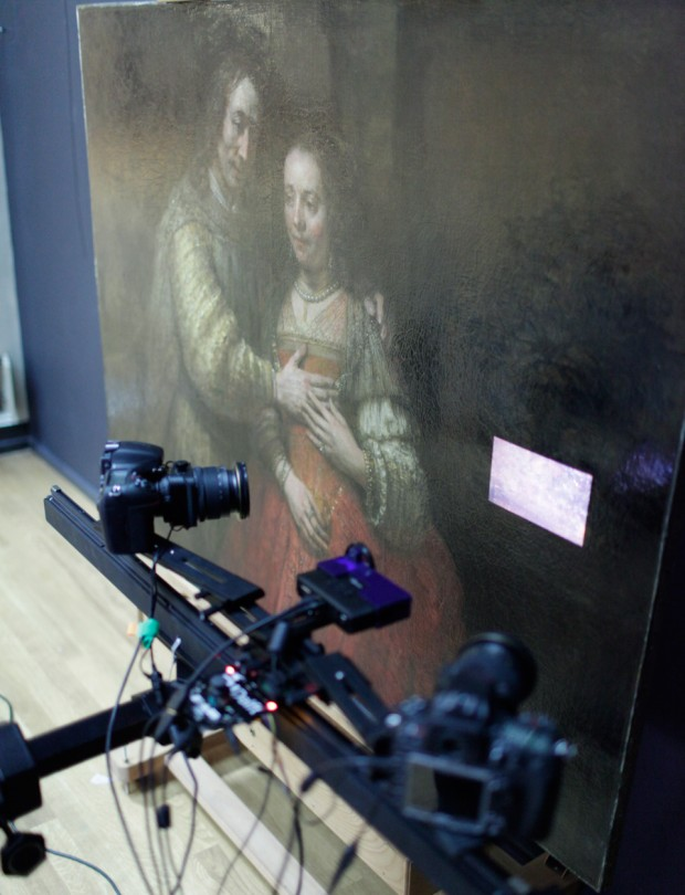 3d scanning painting by tim zaman 620x810