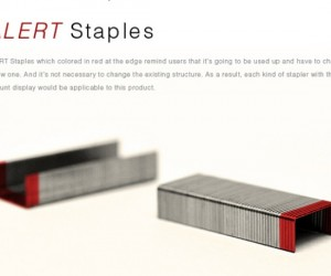 ALERT Staples: Early Warning Device for Staplers?