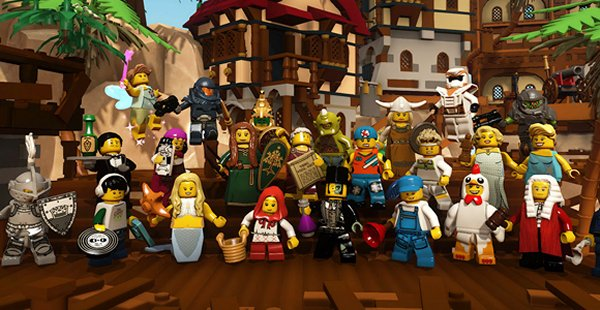 LEGO Minifig MMO Coming Soon. Make That LMMO