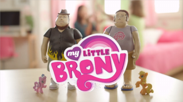 'My Little Brony' Dolls: Friendship is Manly