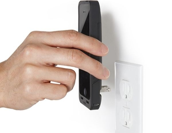 Prong PocketPlug is an iPhone Case and Charger in One