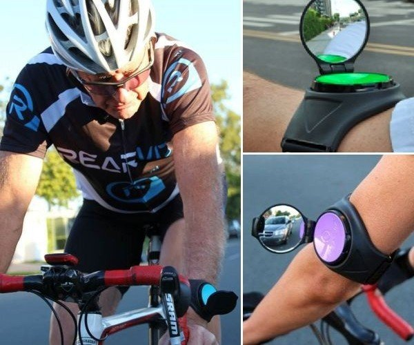 Rearviz: A Wrist-Mounted Mirror for Bike Riders
