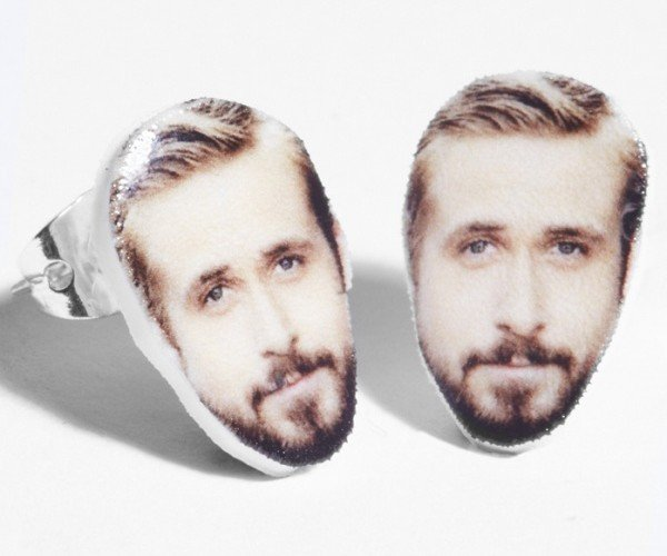 A Stud on a Stud: Ryan Gosling Earrings