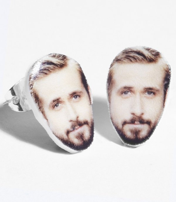 Ryan Gosling Earrings0