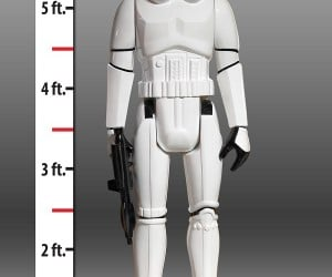 Life-sized Stormtrooper Action Figure: TK-42-Want