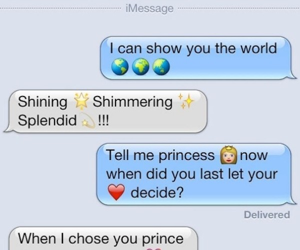 Texting Disney Princesses4