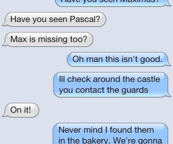 Texting Disney Princesses7
