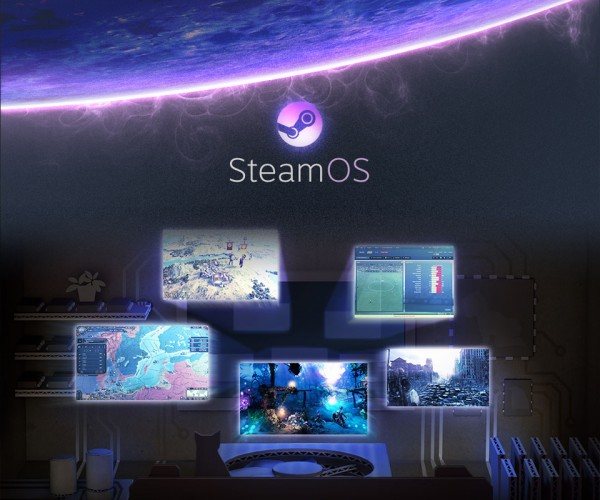 Valve Teases SteamOS, a Free Operating System for Living Room Gaming
