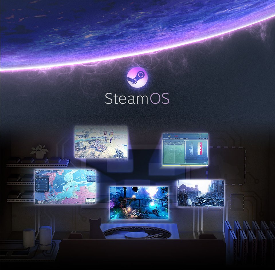 Valve Steam Os Valve Teases SteamOS, ...