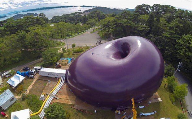 Ark Nova: The Inflatable Building That Fits in Your Pocket (Not!)