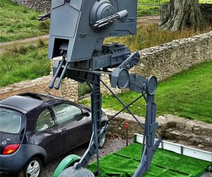 16-Foot Star Wars AT-ST Walker Replica: for Half-hearted Invasions