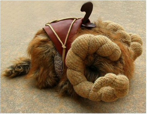 Plush Star Wars Bantha: No Bantha Fodder Required