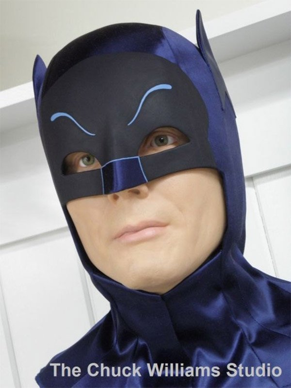 Detailed Batman Cowl Replica Real Adam West