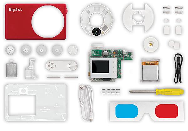 Bigshot DIY Camera Kit: Build & Learn & Point & Shoot