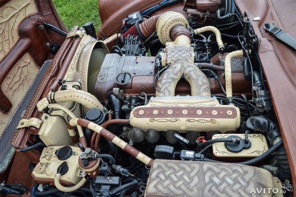 bison leather engine