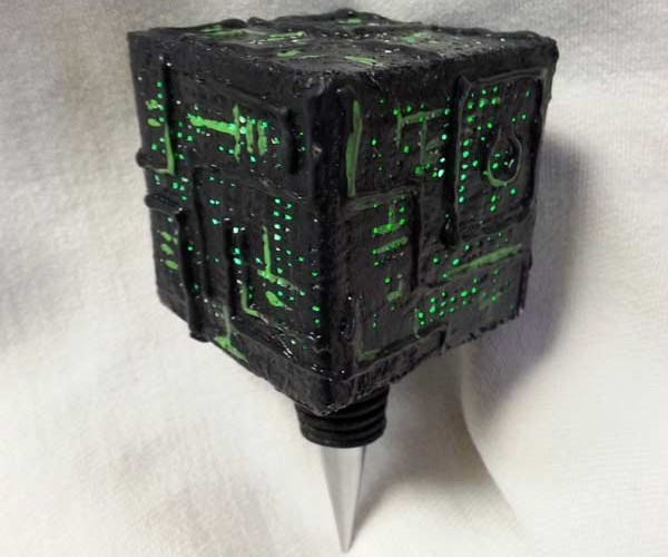 Borg Wine Stopper: Sobriety is Futile for Seven of Wine
