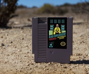 Breaking Bad NES Cartridge: Console Gray