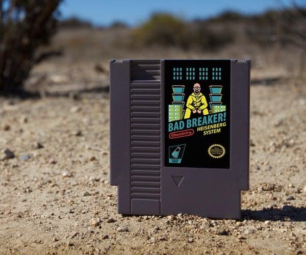 Breaking Bad NES Cartridge: Console Gray