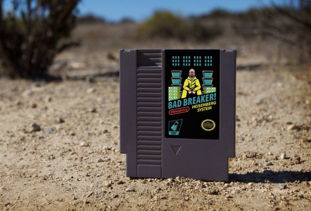 breaking bad nes cartridge by drew wise 72 pins 620x421