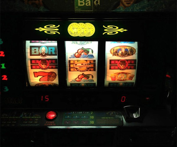 "Rare Breaking Bad Slot Machine: Perfect for Walt's ""Gambling Addiction"""