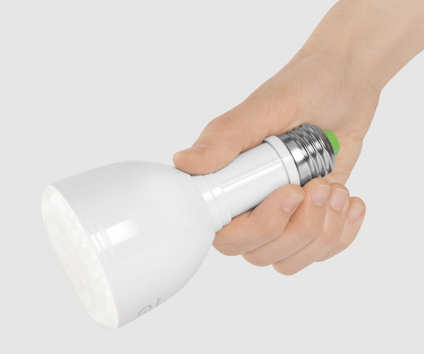 Bulb Flashlight is a Light Bulb and Flashlight in One