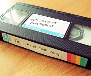 DVDs in a VHS Tape: A Present from the Past