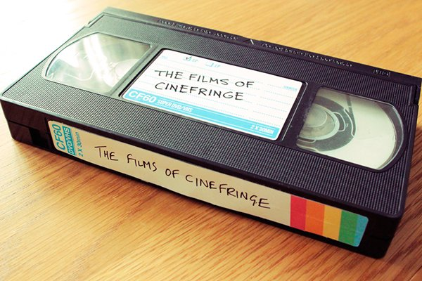 cinefringe festival vhs dvd case