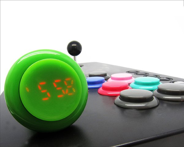 Click Arcade Button Watch: 24-Hour Combo