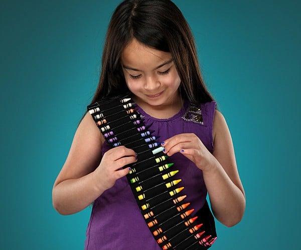 Crayon Bandolier for Kids: Dress Like Craybacca