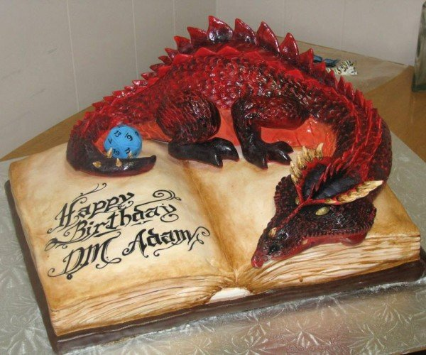 Dungeons and Dragons Cake: More Like Dungeons and Diabetes