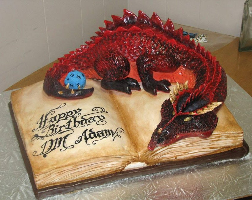 Magic The Gathering Wedding Cake