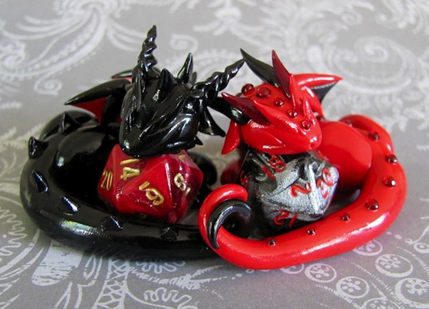 Let These Dragons Hold Your Dice for You
