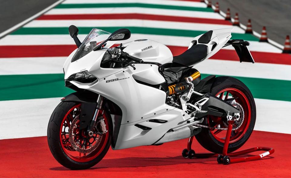 Ducati  Panigale White