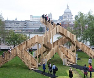 Endless Stair Sculpture: Escher IRL