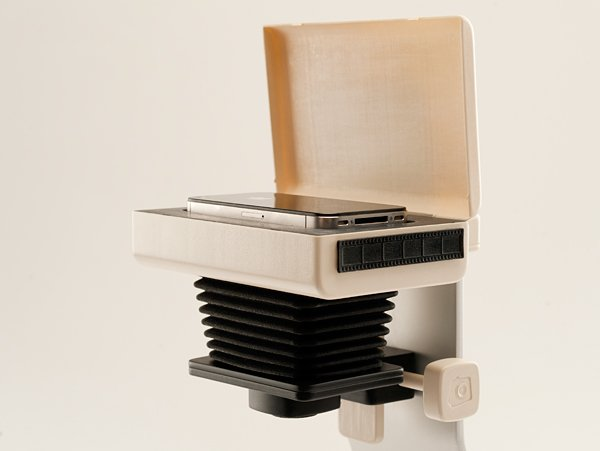 Enfojer Smartphone Enlarger: Develop Digital Photos the Analog Way