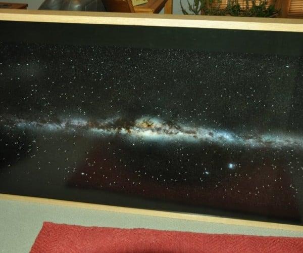 Fiber Optic Star Map: Wall Planetarium