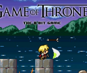 Retro Game of Thrones Video Game: The Pixelated Kingdoms of Westeros