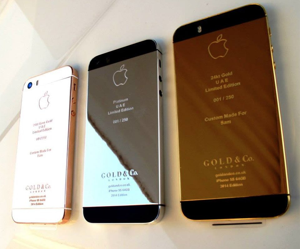 rose gold iphone 5s iphone 5s plated in gold or platinum technabob 16036