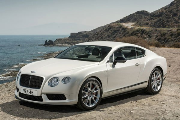 Bentley 2014 Continental GT V8 S: 0 to 60 in 4.3, 512HP and 26.8 MPG, Say What?