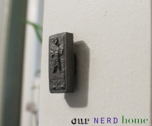 Han Solo in Carbonite Drawer Pulls: For When You're Hunting for Bounty (Paper Towels)