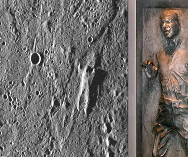 Han Solo Frozen in Carbonite Found on Mercury