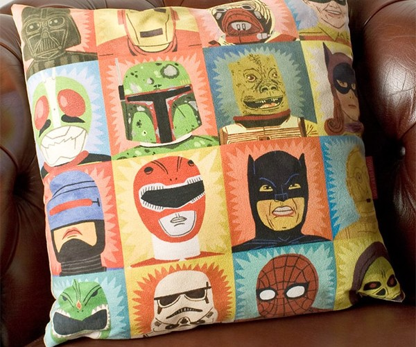 Heroes and Villains Pillow: Park Your Butt on Jabba the Hutt