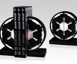 Star Wars Imperial Seal Bookends: Knowledge is Power. UNLIMITED POWER