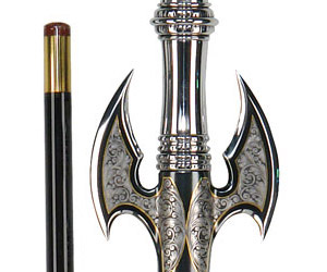 World's Most Expensive Pool Cue Looks Like a Medieval Weapon