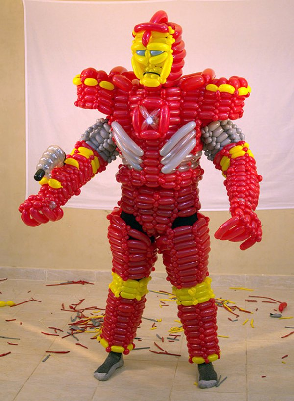 iron man balloon armor