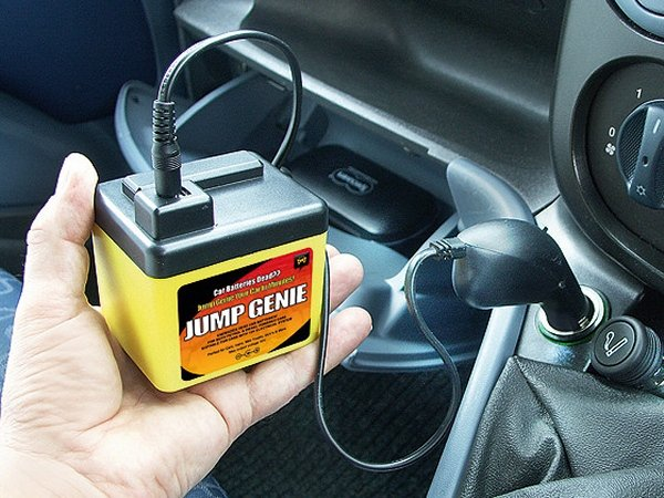Jump Genie Starts Your Car Without Another Car