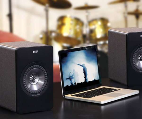 KEF X300AW Wireless PC Speakers Aimed at Well-Heeled Audiophiles